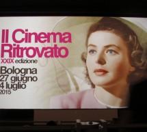 Vždycky budeme mít… Boloňu. Krátké ohlédnutí za 29. ročníkem festivalu Il Cinema Ritrovato