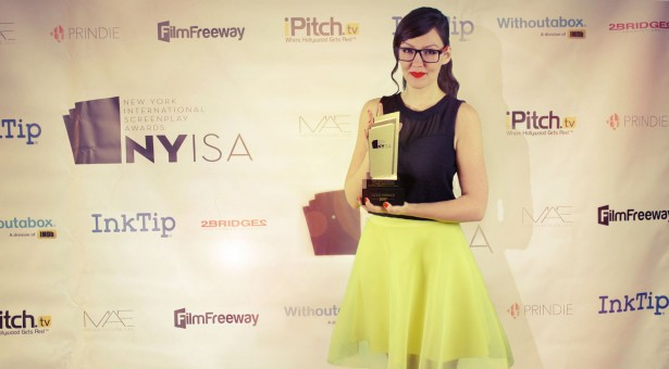 Začínající scenáristka Alena Čadová si z festivalu v New Yorku veze zlatou sošku