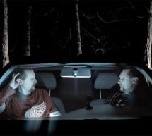 Autoportrét jako autoterapie v autě