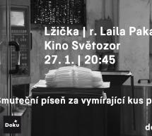 Lžička Laily Pakalniny 27. 1. ve Světozoru