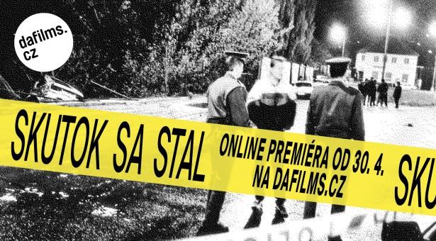 Dokument Skutok sa stal v online premiéře na DAFilms