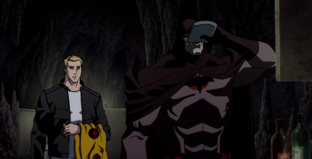 Batman už zase pije.
