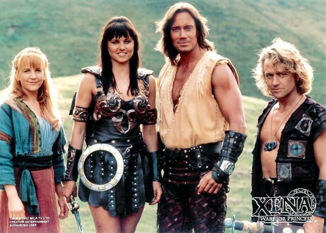 http://en.wikipedia.org/wiki/List_of_Hercules:_The_Legendary_Journeys_and_Xena:_Warrior_Princess_characters