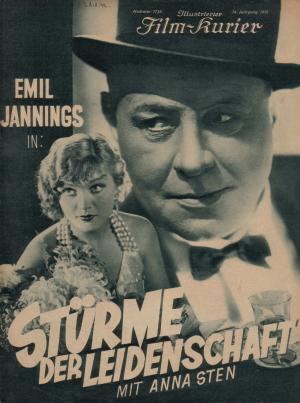V bouři vášní (1932)