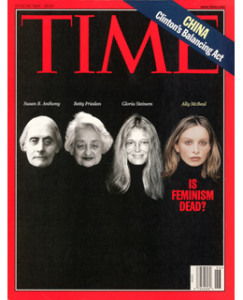 Evolúcia feminizmu Susan B. Anthony, Betty Friedan, Gloria Steinem a Ally McBeal. Fiktívna žena tak kultová, až patrí medzi skutočné.