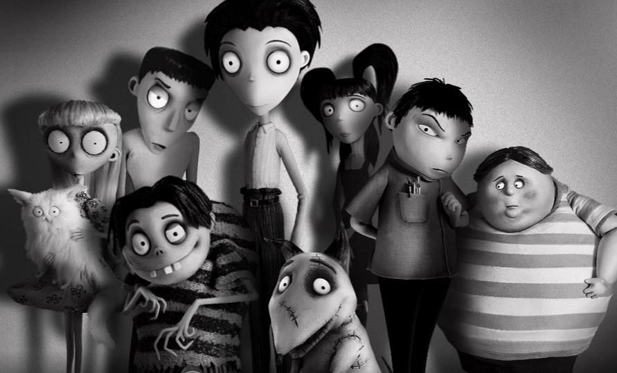 Frankenweenie: Domácí mazlíček (rež. Tim Burton, 2012)