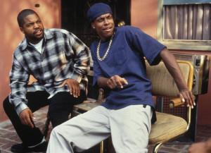 Ice Cube a Chris Tucker ve filmu Pátek